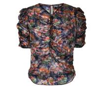 T-Shirt mit floralem Print