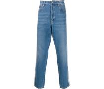 Jeans mit doppelten Streifen