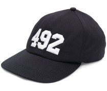 embroidered number cap