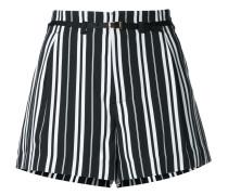 Shorts mit Längsstreifen