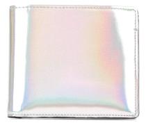 Portemonnaie mit irisierendem Effekt