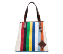 Canvas-Shopper mit Riemendetail