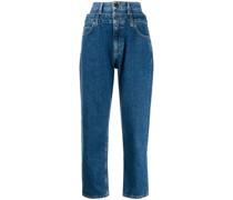 'Kitty' Jeans mit doppeltem Bund