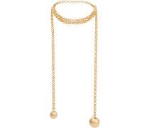 Halskette mit geometrischem Anhänger