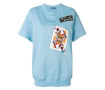 Kurzärmeliges 'Queen of Hearts' Sweatshirt