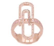 Rotvergoldeter 'Doreen' Ring