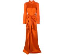 'Maddy' Robe im Hemd-Design