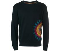 Sweatshirt mit Sonnenmotiv