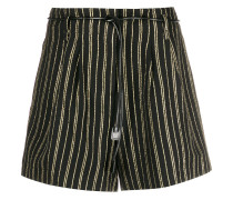 Gestreifte 'Toro' Shorts