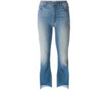 'Insider Crop Step Fray' Jeans