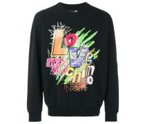 Sweatshirt mit grafischem Logo-Print