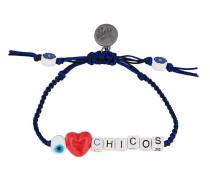 'I Love Chicos' Armband