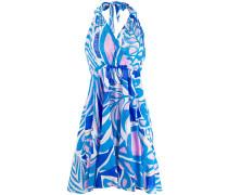Neckholder-Kleid mit Print