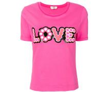 """T-Shirt mit """"Love""""-Applikation"""