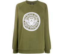 Sweatshirt mit Medaillon-Logo