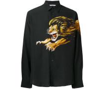 Hemd mit Löwen-Print