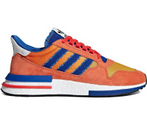 multicoloured dragon ball ZX RM 500 Goku sneakers