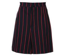 pinstripe chino shorts