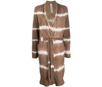 Mantel mit Batikmuster