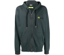 DXF-S-Alby zipped hoodie