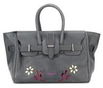 Handtasche mit floralen Cut-Outs