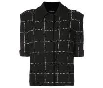 Tweed-Jacke mit kurzen Ärmeln