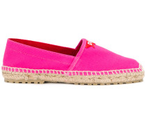 Espadrilles mit Logo-Patch - Unavailable