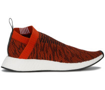 'Red Leopard NMD CS2 Primeknit' Sneakers