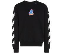 Gestreiftes Thermo-Sweatshirt