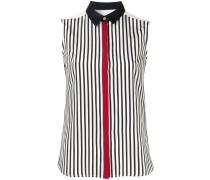 Ärmelloses Hemd mit Streifen
