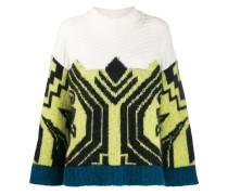 Pullover mit Aztekenmuster