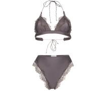 'Travaille' Triangel-Bikini mit Spitze