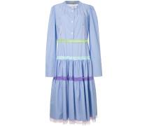 Hemdkleid mit Falten