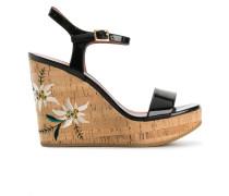 'Caelie' Sandalen mit Keilabsatz
