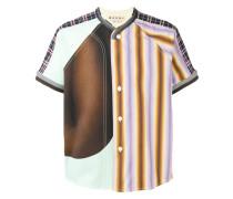 Hemd im Patchwork-Design