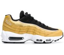 metallic Air Max sneakers