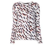 Jacquard-Pullover mit abstraktem Muster