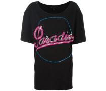Verziertes 'Paradise' T-Shirt