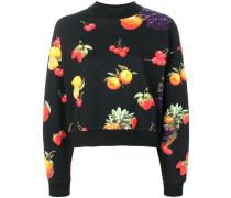 Sweatshirt mit Früchte-Print