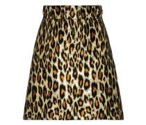 Rock mit Leopardenmuster