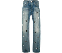 'Bijou Flower' Jeans