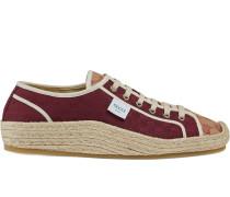 Espadrille-Sneakers mit mini GG