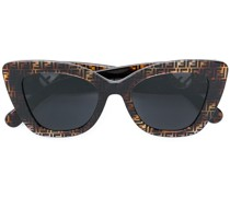 monogram frame sunglasses