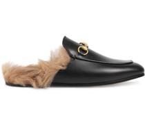 'Princetown' Slipper aus Leder
