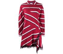 Gestreiftes Oversized-Poloshirt