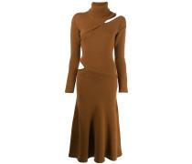 Asymmetrisches Pulloverkleid