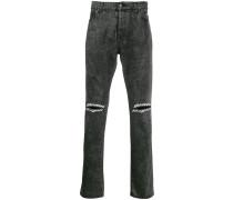 Jeans mit Logo-Print