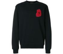 Sweatshirt mit Hasen-Patch