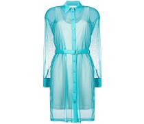 Semi-transparentes Hemdkleid
