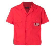 Cropped-Hemd mit kurzen Ärmeln - Unavailable